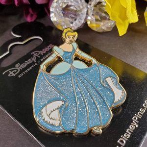 Disney Parks Sparkling Cinderella Gown Pin